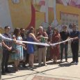 Medford celebrates Vogel Plaza mural with ribbon cutting