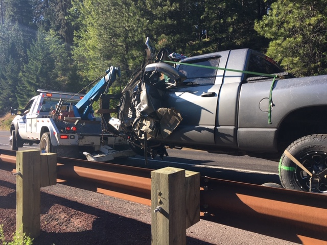 Major injury crash closes HWY 140 - KOBI-TV NBC5 / KOTI-TV NBC2