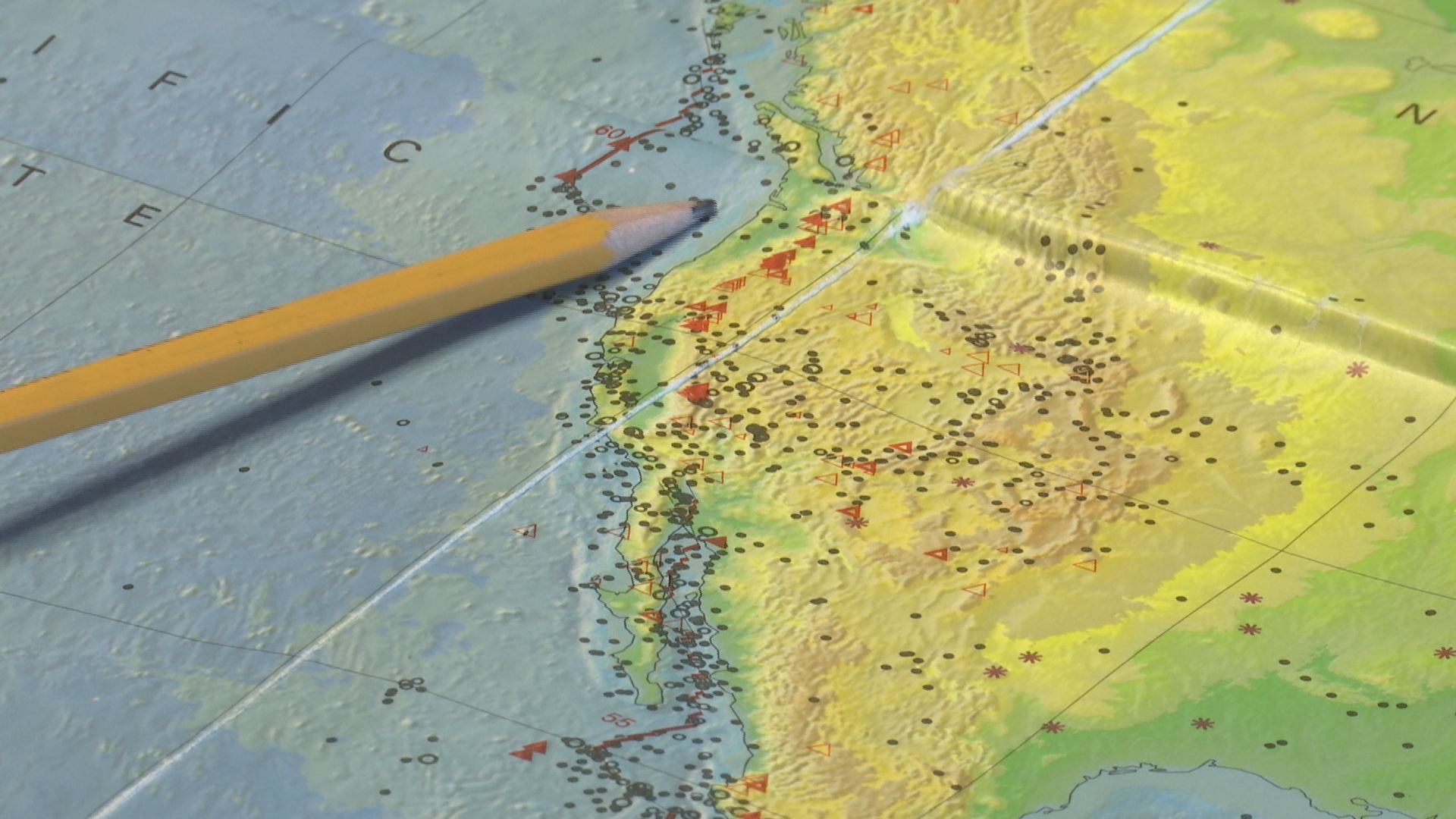 Researchers find a tear in a tectonic plate under Oregon