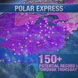 """Polar Express"" chills the Eastern U.S."