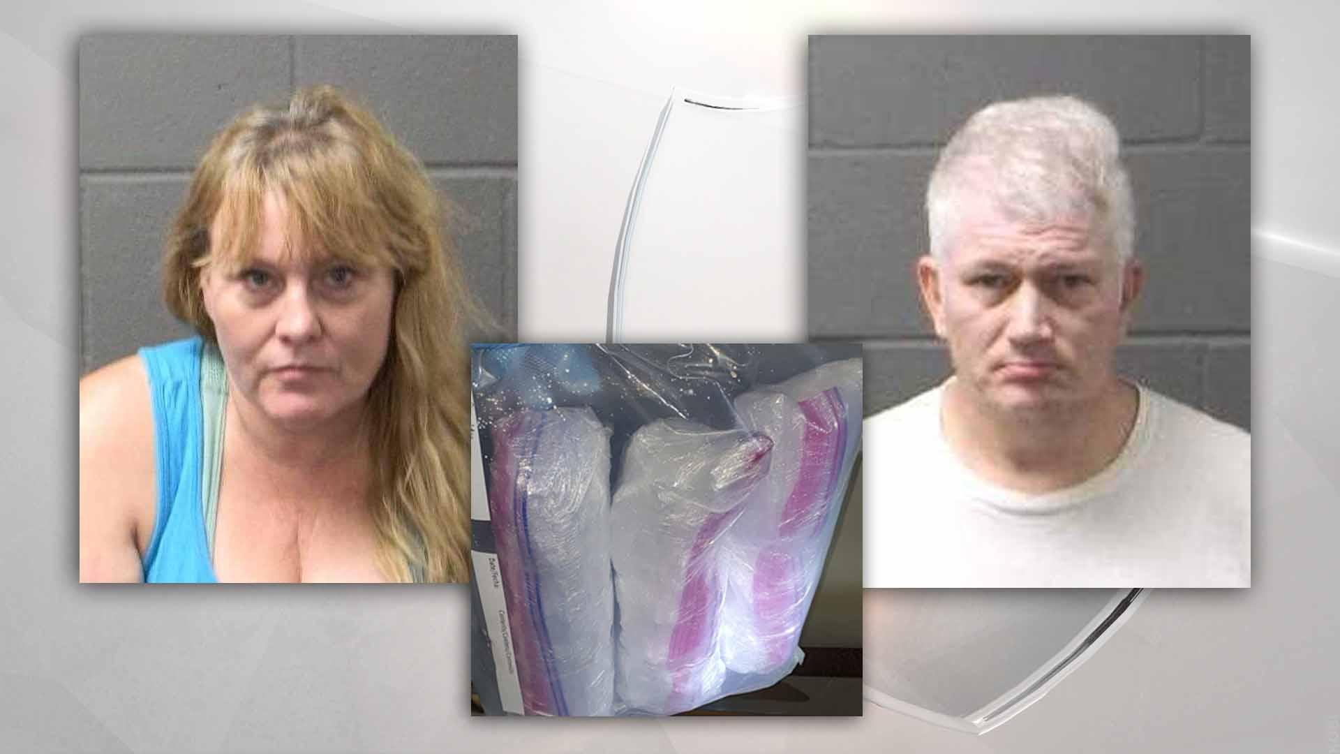 Suspects found with 8 pounds of meth, Klamath Falls police say - KOBI-TV NBC5 / KOTI-TV NBC2