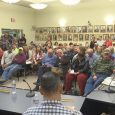 Overflow crowd prompts continuance of planning hearing on wastewater use